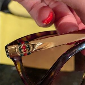 Gucci Cat 🐆eye sunglasses- BRAND NEW